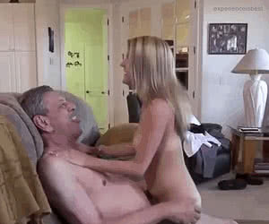 Old And Young animated GIF